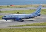 ふうちゃんさんが、関西国際空港で撮影したラスベガス サンズ 737-74U BBJの航空フォト(写真)