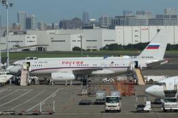 宮崎 育男さんが、羽田空港で撮影したロシア航空 Tu-204/214/234の航空フォト(写真)
