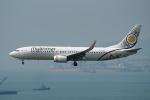 ぎんじろーさんが、香港国際空港で撮影したミャンマー・ナショナル・エアウェイズ 737-86Nの航空フォト(写真)