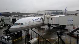 BOSTONさんが、ニューアーク・リバティー国際空港で撮影したユナイテッド航空 757-224の航空フォト(飛行機 写真・画像)