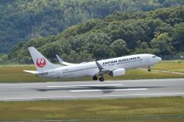 miffyさんが、広島空港で撮影した日本航空 737-846の航空フォト(写真)