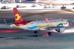 Ariesさんが、羽田空港で撮影した天津航空 A320-214の航空フォト(写真)