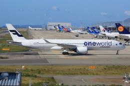 キイロイトリ1005fさんが、関西国際空港で撮影したフィンエアー A350-941XWBの航空フォト(写真)