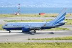 シュウさんが、関西国際空港で撮影したラスベガス サンズ 737-74U BBJの航空フォト(写真)