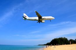 まいけるさんが、プーケット国際空港で撮影したバンコクエアウェイズ A320-232の航空フォト(写真)