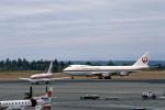 Gambardierさんが、シアトル タコマ国際空港で撮影した日本航空 747-246Bの航空フォト(写真)