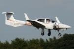 (`・ω・´)さんが、調布飛行場で撮影したアイベックスアビエイション DA42 TwinStarの航空フォト(写真)