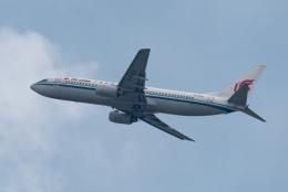 ぎんじろーさんが、香港国際空港で撮影した中国国際航空 737-86Nの航空フォト(飛行機 写真・画像)