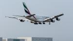 2wmさんが、台湾桃園国際空港で撮影したエミレーツ航空 A380-861の航空フォト(写真)