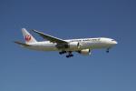 utarou on NRTさんが、成田国際空港で撮影した日本航空 777-246/ERの航空フォト(写真)