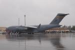 木人さんが、横田基地で撮影したアメリカ空軍 C-17A Globemaster IIIの航空フォト(写真)