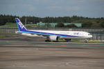 utarou on NRTさんが、成田国際空港で撮影した全日空 777-381/ERの航空フォト(写真)