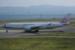 いっとくさんが、関西国際空港で撮影したチャイナエアライン A350-941XWBの航空フォト(写真)