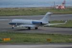 いっとくさんが、関西国際空港で撮影したN/A BD-700-1A10 Global 6000の航空フォト(写真)