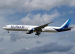 voyagerさんが、フランクフルト国際空港で撮影したクウェート航空 777-369/ERの航空フォト(飛行機 写真・画像)