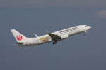 やつはしさんが、羽田空港で撮影したJALエクスプレス 737-846の航空フォト(写真)