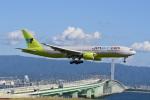 シュウさんが、関西国際空港で撮影したジンエアー 777-2B5/ERの航空フォト(写真)