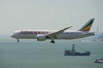 よしぱるさんが、香港国際空港で撮影したエチオピア航空 787-8 Dreamlinerの航空フォト(写真)