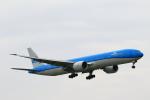 こだしさんが、成田国際空港で撮影したKLMオランダ航空 777-306/ERの航空フォト(写真)