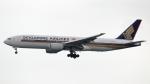 誘喜さんが、香港国際空港で撮影したシンガポール航空 777-212/ERの航空フォト(写真)