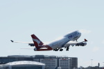 しかばねさんが、シドニー国際空港で撮影したカンタス航空 747-438/ERの航空フォト(写真)