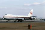 Gambardierさんが、伊丹空港で撮影した日本航空 747SR-46の航空フォト(写真)