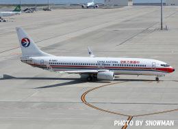 snowmanさんが、中部国際空港で撮影した中国東方航空 737-89Pの航空フォト(写真)