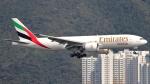 誘喜さんが、香港国際空港で撮影したエミレーツ航空 777-F1Hの航空フォト(写真)