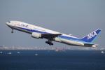 やつはしさんが、羽田空港で撮影した全日空 777-281の航空フォト(写真)