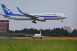 じゃりんこさんが、成田国際空港で撮影した全日空 767-381/ERの航空フォト(写真)