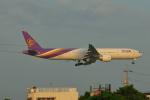 じゃりんこさんが、成田国際空港で撮影したタイ国際航空 777-3AL/ERの航空フォト(写真)