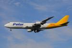 じゃりんこさんが、成田国際空港で撮影したポーラーエアカーゴ 747-87UF/SCDの航空フォト(写真)