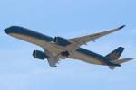 セブンさんが、関西国際空港で撮影したベトナム航空 A350-941XWBの航空フォト(飛行機 写真・画像)