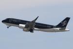 セブンさんが、関西国際空港で撮影したスターフライヤー A320-214の航空フォト(飛行機 写真・画像)