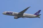 じゃりんこさんが、成田国際空港で撮影したLOTポーランド航空 787-8 Dreamlinerの航空フォト(写真)