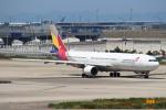 セブンさんが、関西国際空港で撮影したアシアナ航空 A330-323Xの航空フォト(写真)