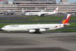 セブンさんが、羽田空港で撮影したフィリピン航空 A340-313Xの航空フォト(飛行機 写真・画像)