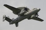 たろりんさんが、厚木飛行場で撮影したアメリカ海軍 E-2D Advanced Hawkeyeの航空フォト(写真)