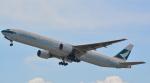 toyoquitoさんが、関西国際空港で撮影したキャセイパシフィック航空 777-367の航空フォト(写真)