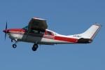 (`・ω・´)さんが、調布飛行場で撮影した川崎航空 TU206G Turbo Stationair 6の航空フォト(写真)