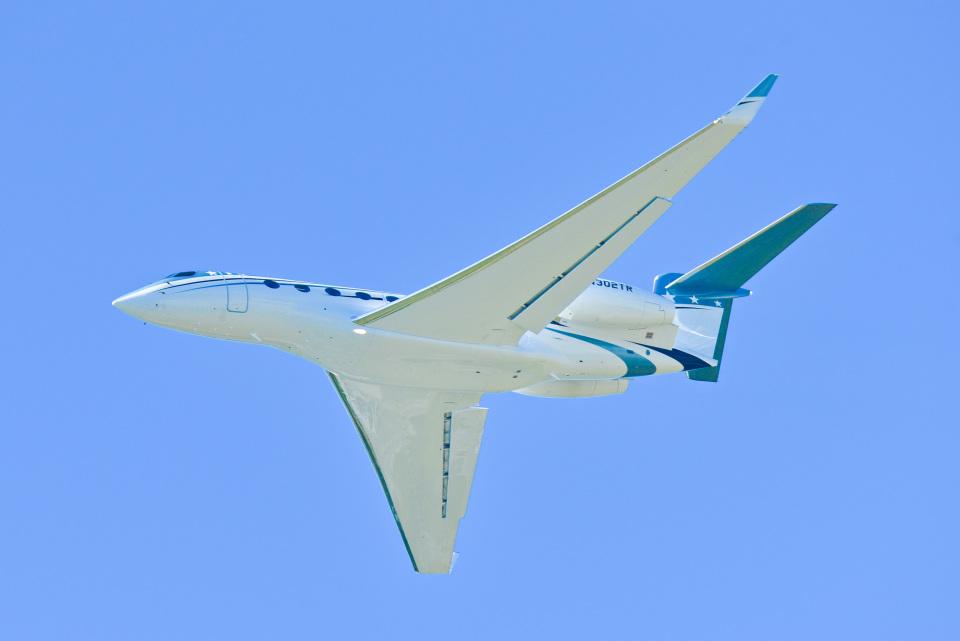 パンダさんのウィルミントン・トラスト・カンパニー Gulfstream G650 (G-VI) (N302TR) 航空フォト