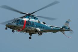 かみきりむしさんが、名古屋飛行場で撮影した兵庫県警察 A109E Powerの航空フォト(写真)