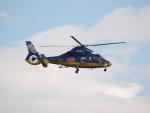 ここはどこ?さんが、札幌飛行場で撮影した北海道航空 AS365N3 Dauphin 2の航空フォト(写真)