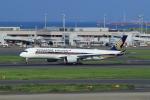 たまさんが、羽田空港で撮影したシンガポール航空 A350-941XWBの航空フォト(写真)
