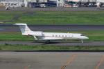 たまさんが、羽田空港で撮影したウェルズ・ファーゴ・バンク・ノースウェスト G-V-SP Gulfstream G550の航空フォト(写真)