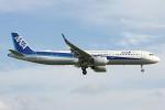 コギモニさんが、小松空港で撮影した全日空 A321-272Nの航空フォト(写真)