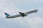 pringlesさんが、成田国際空港で撮影したエアプサン A321-231の航空フォト(写真)