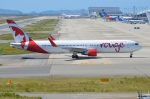 amagoさんが、関西国際空港で撮影したエア・カナダ・ルージュ 767-33A/ERの航空フォト(写真)