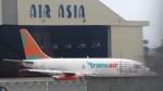 westtowerさんが、台南空港で撮影したトランスエア 737-2T4C/Advの航空フォト(写真)