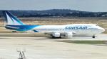 誘喜さんが、パリ オルリー空港で撮影したコルセール 747-422の航空フォト(写真)